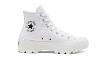 Converse CHUCK TAYLOR ALL STAR LUGGED HI TOP WHITE WOMAN