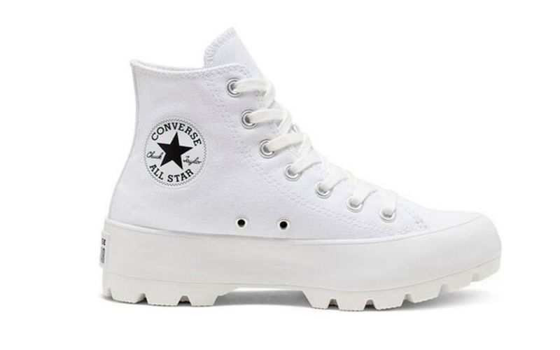 CHUCK TAYLOR ALL STAR LUGGED HI TOP WHITE WOMAN