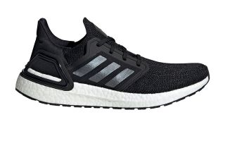 adidas ULTRABOOST 20 BLACK WHITE