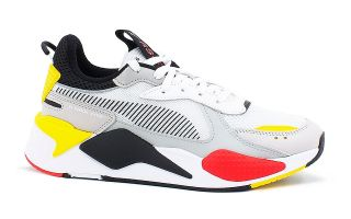 Puma RS X TOYS WHITE BLACK