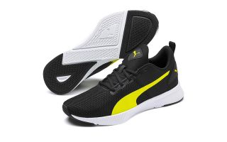 Puma FLYER RUNNER BLACK YELLOW