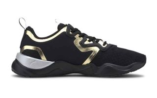 Puma ZONE XT METAL BLACK GOLD WOMAN