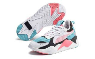RS-X 90S CORAL WHITE