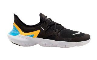 Nike FREE RN 5.0 NEGRO BLANCO AQ1289 013