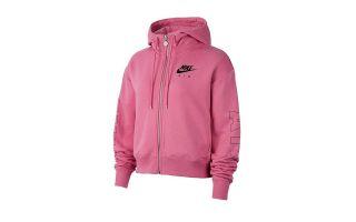 Nike SWEAT-SHIRT AIR HOODIE FZ ROSE FEMME