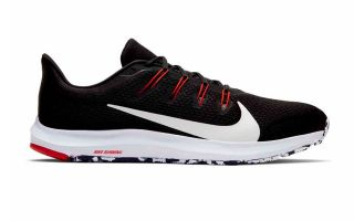 Nike QUEST 2 BLACK RED WHITE