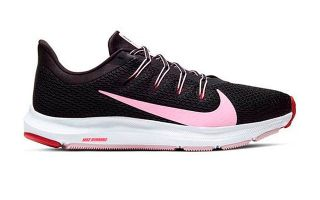 Nike QUEST 2 NEGRO CORAL MUJER