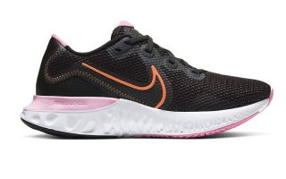 Nike RENEW RUN SCHWARZ ROSA DAMEN CK6360-001
