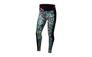 Nike LEGGINS ONE BLACK GREEN GIRL