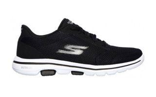 Skechers GO WALK 5 BLACK WHITE WOMAN