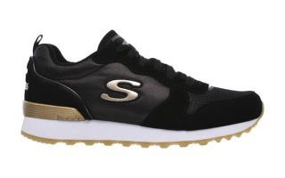 <center><b>Skechers</b><br > <em>RETROS 0G-85 BLACK GOLD WOMAN</em>