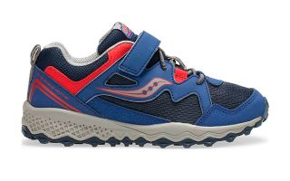 Saucony PEREGRINE SHIELD 2 A/C AZUL ROJO JUNIOR SK262303