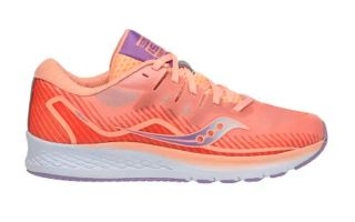 SAUCONY RIDE ISO 2 CORAL LILA MUJER SK161990