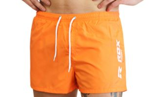 ROX SHORT DE BAIN R-OPEN ORANGE