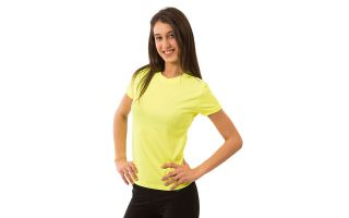 Softee TECNIC T-SHIRT YELLOW FLUORINE WOMAN