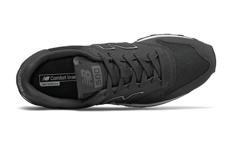 new balance 500 noir