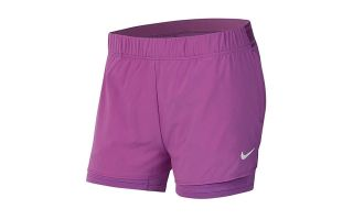 Nike COURT FLEX SHORTS PURPLE WOMAN