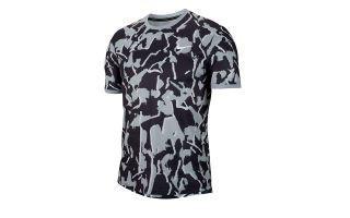 Nike T-SHIRT DRI-FIT GRIS NOIR