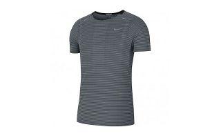 Nike T-SHIRT TECHKNIT ULTRA GRIS