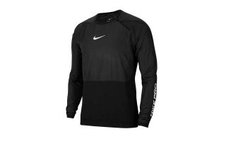 Nike SUDADERA PRO NEGRO