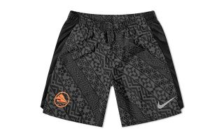 NIKE BLACK GREY CHALLENGER SHORTS