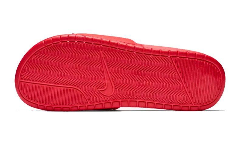 Convención tema plan de estudios  Chanclas Nike Benassi Jd rojo - Diseño moderno