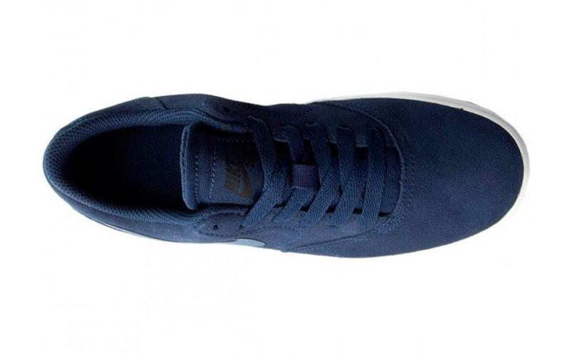 Nike sb Check Suede navy blue - Sleek design