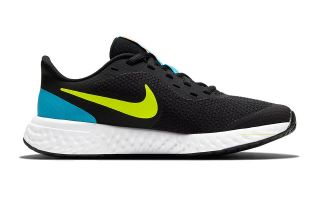 Nike REVOLUTION 5 BLACK BLUE WOMAN