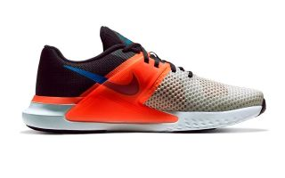 NIKE RENEW FUSION GREY ORANGE