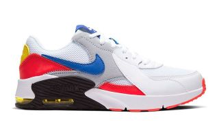 Nike AIR MAX EXCEE WHITE RED BLUE JUNIOR