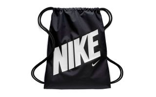 NIKE GRAPHIC BAG BLACK WHITE