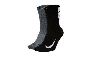 Nike CALCETINES MUTIPLIER NEGRO GRIS