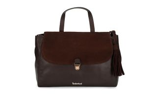 Timberland BOLSO POSTMAN TORTOISE SHELL MARRÓN MUJER