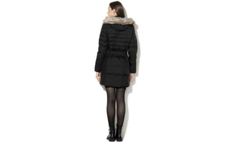 GIACCA PARKA QUILTED NERO DONNA
