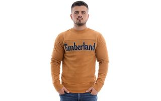 Timberland SWEAT-SHIRT HR C&S LOGO ORANGE