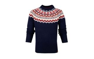 Timberland SWEAT-SHIRT FAIRSLE BLEU MARINE