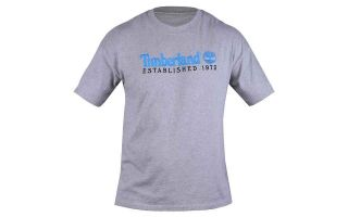 Timberland T-SHIRT EMBROIDERY GRIS