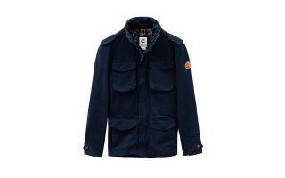 Timberland JACKET M65 FIELD NAVY BLUE