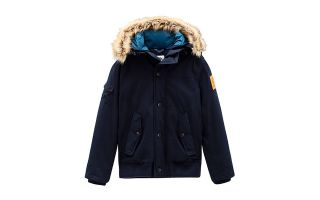 TIMBERLAND SNORKEL DOWNFREE NAVY BUE JACKET