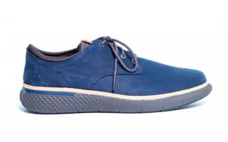 Timberland CROSS MARK PT OXFORD BLEU TB0A22320191