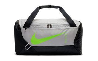 Nike BORSA BRASILIA GRIGIO NERO