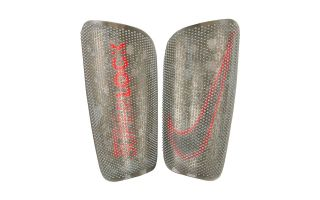 Nike MERCURIAL SHIN GUARD LITE SUPERLOCK SILVER