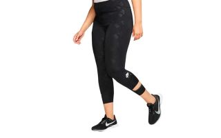 Nike SPORTWEAR AIR CURVE LEGGINS BLACK WOMAN