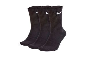 Nike CALCETINES EVERYDAY CUSHIONED 3 PARES NEGRO