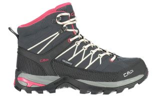 CMP RIGEL MID BLACK PINK WOMAN