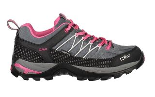 CMP RIGEL LOW WP GREY FUCHSIA WOMAN