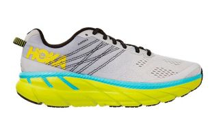 Hoka CLIFTON 6 GRAY YELLOW 1102872LRNC