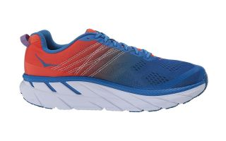 Hoka CLIFTON 6 BLEU ROUGE 1102872MRIB