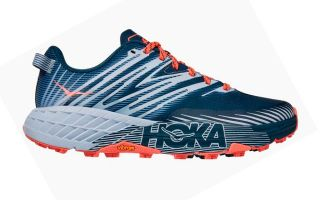 SPEEDGOAT 4 AZUL NAVY CORAL MUJER 1106527MBHH
