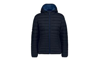 CMP HOODED JACKET ZIP NAVY BLUE